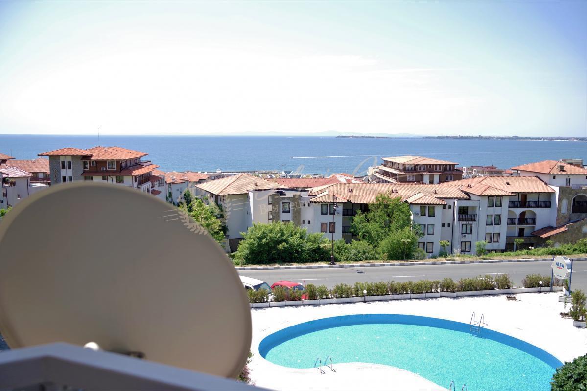 4bf3ca7b1d706 Светлая, уютная квартира с 1 спальней с видом на море в г.Святой ...