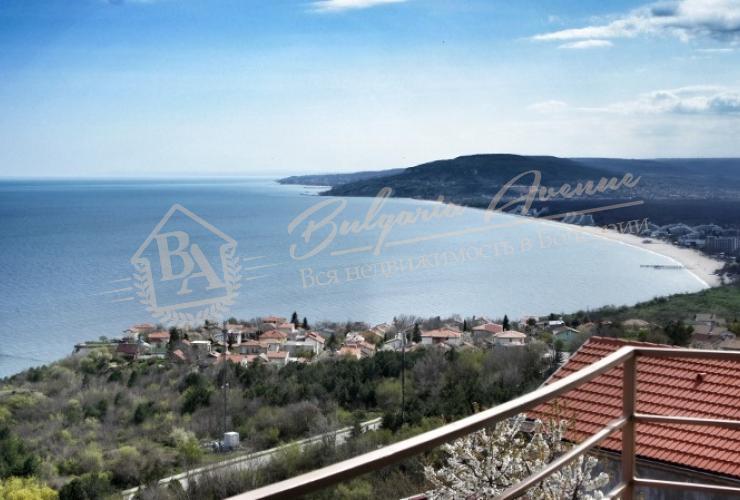 Панорамный вид на море, к.Албена