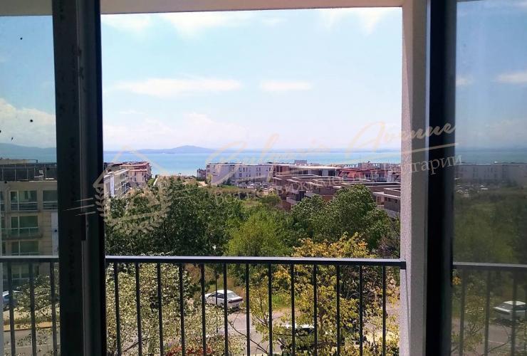 Вид с комнаты в Сарафово